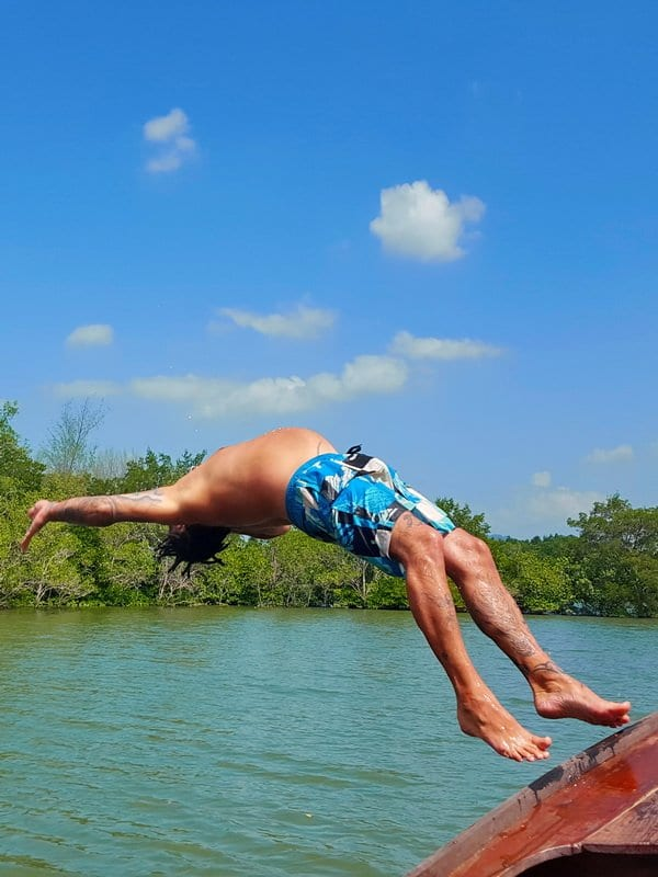 Khao Lak, diving in the mangroves