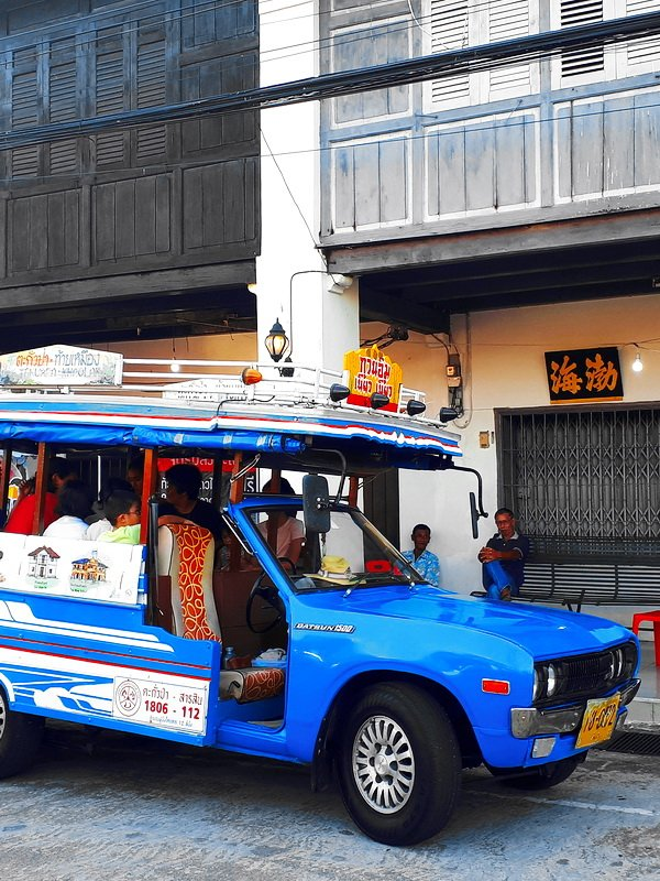 Songteaw Taxi in Takua Pa
