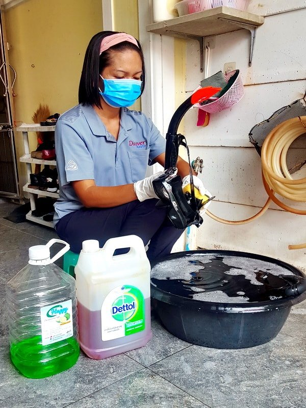 Clean and safe equipment