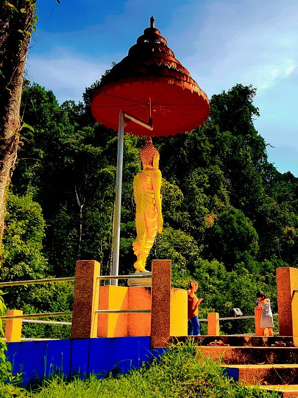 Khao Lak Tample in the jungle